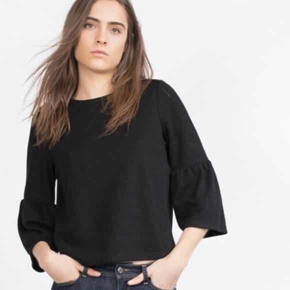 f9ca97aefc3364 Zara Tops   Bell Sleeve Top   Poshmark